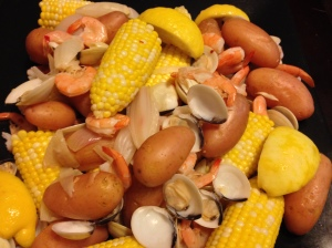clambake closeup